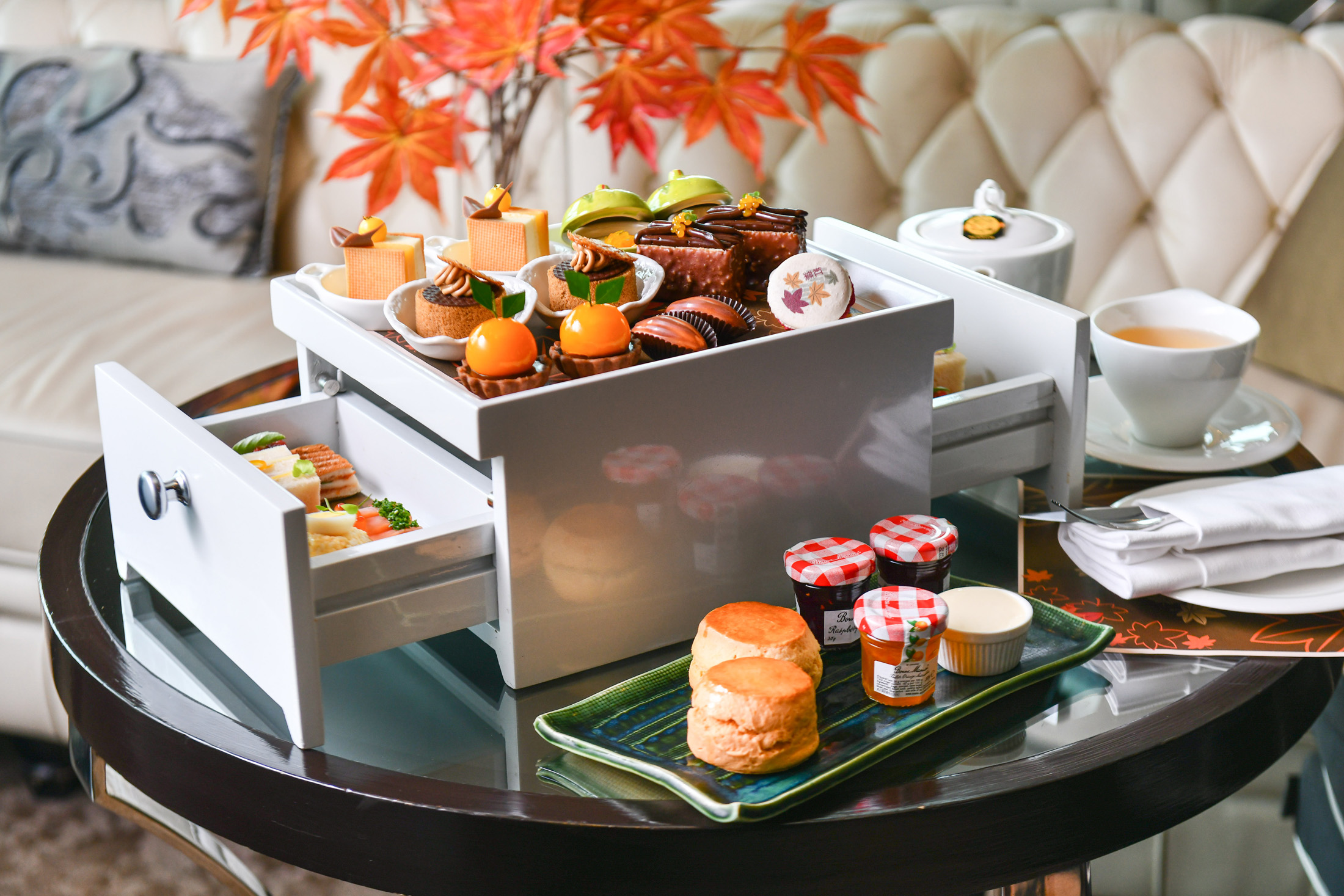 Up & Above Bar_Autumn Orange Afternoon Tea_3.jpg